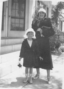 Grandma and me 1935