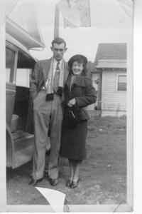 Mom & ad 1938